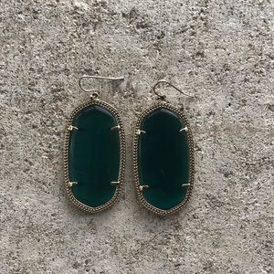 Kendra Scott Green Cats Eye Danielles